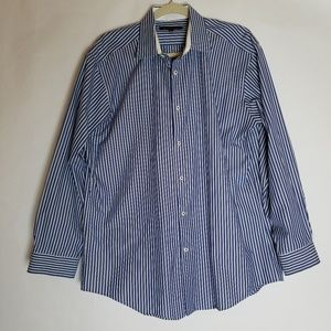 Ben Sherman striped button up men's shirt L / 16.5